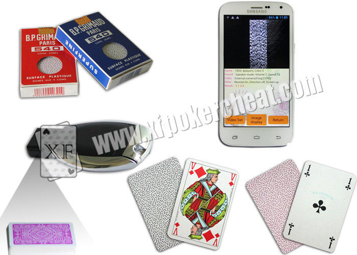 4 Regular Index Paper Marked Playing Cards Invisible Barcode For Poker Scanner