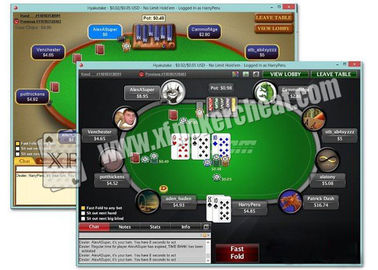 Software de análise inglês de Texas Holdem do dispositivo da fraude do póquer com sistema de XP